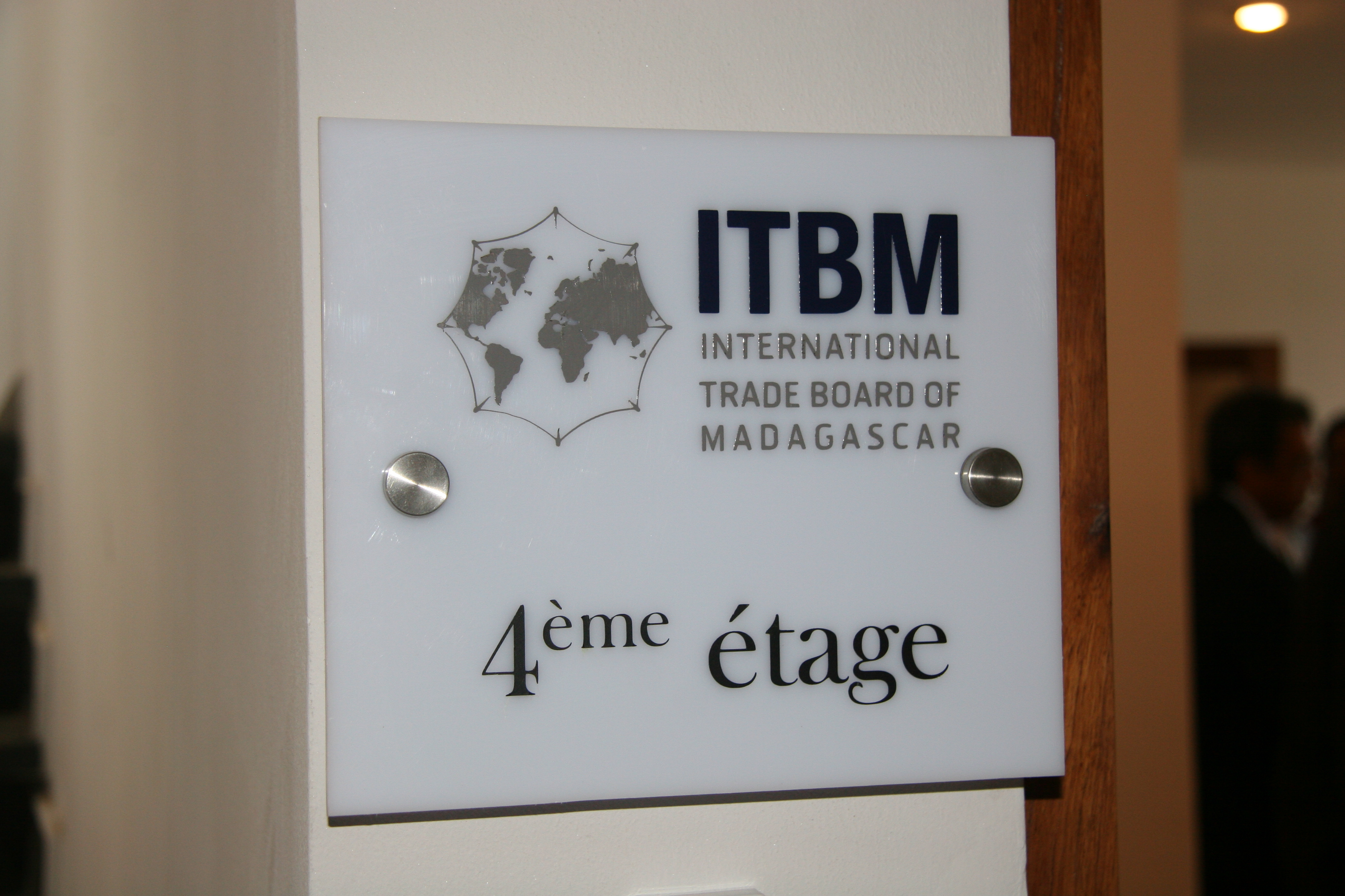 Inauguration des locaux de l itbm l 39 international trade for Chambre de commerce de madagascar