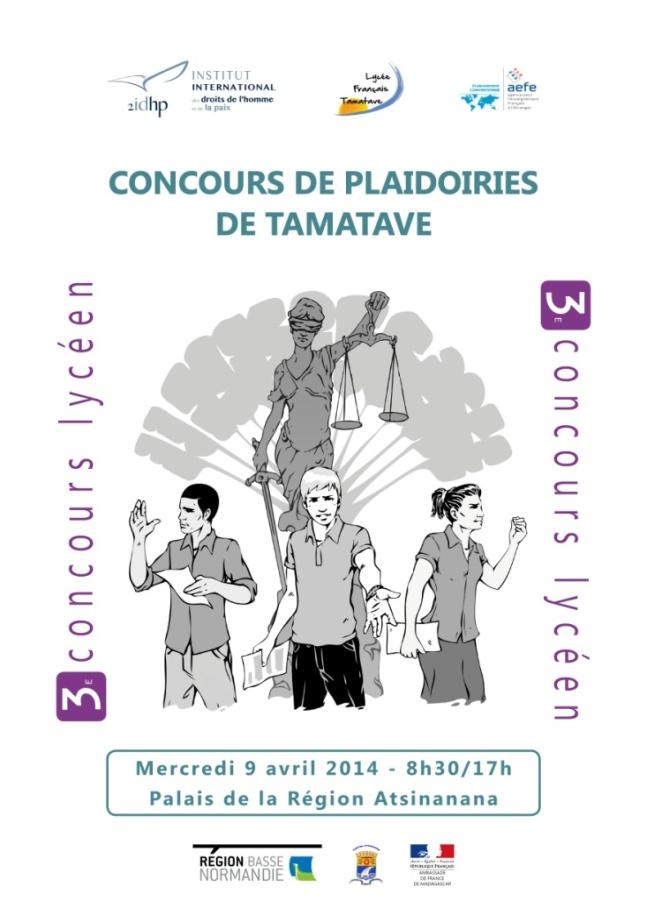 Troisi me dition du concours de plaidoirie sur les droits for Chambre de commerce de madagascar