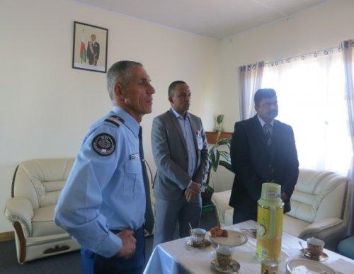 Visite protocolaire de l asi l esgn de moramanga la for Chambre de commerce de madagascar
