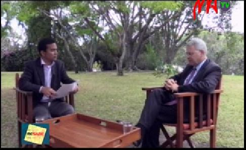 Interview de l 39 ambassadeur accord e matv la france for Chambre de commerce de madagascar