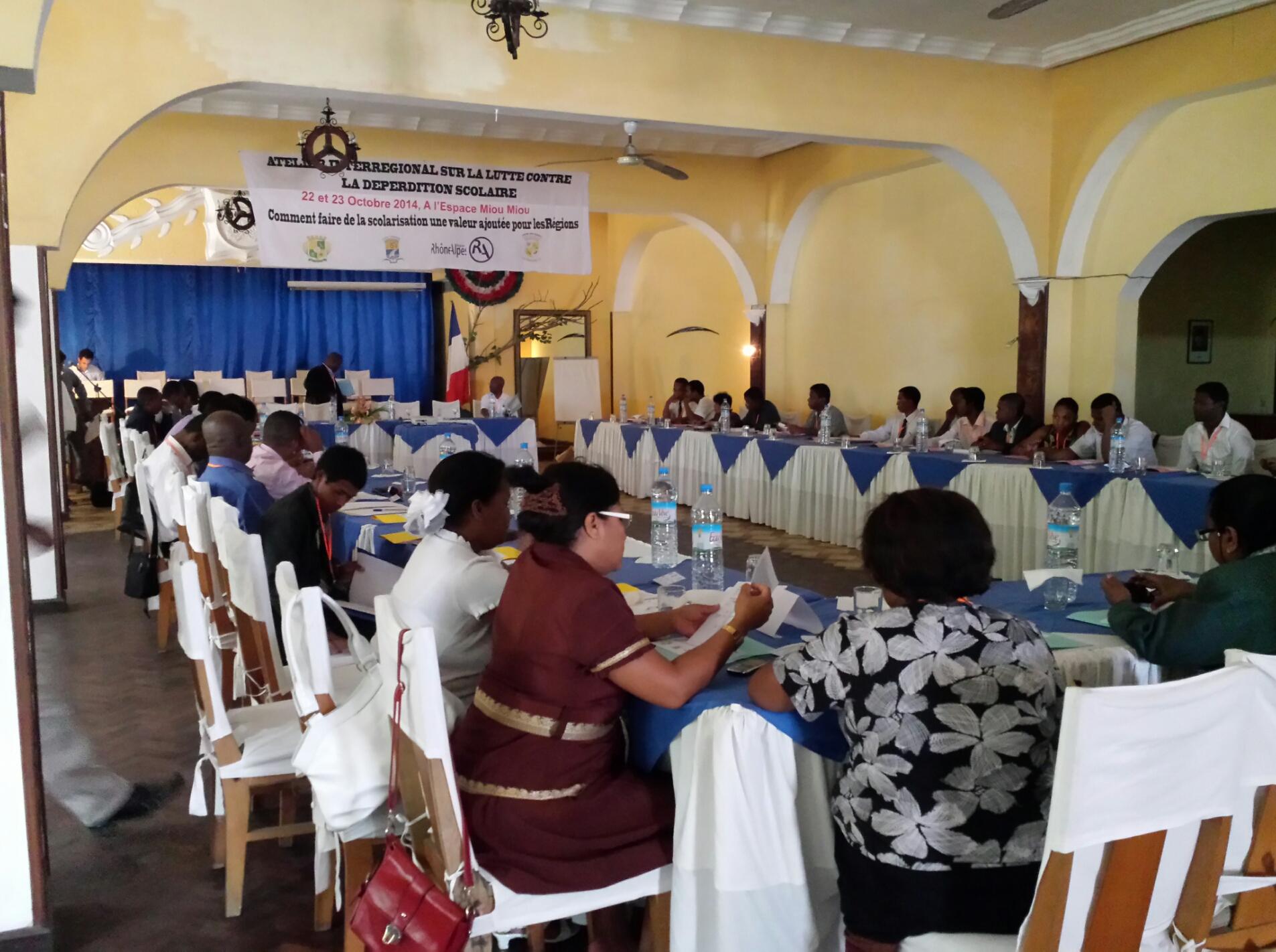 La r gion atsinanana organise un atelier sur la lutte for Chambre de commerce de madagascar