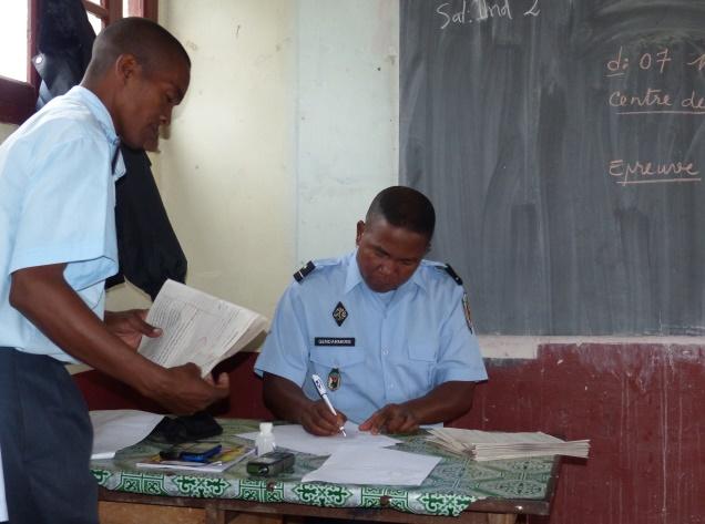 Du nouveau l cole sup rieure de la gendarmerie for Chambre de commerce de madagascar