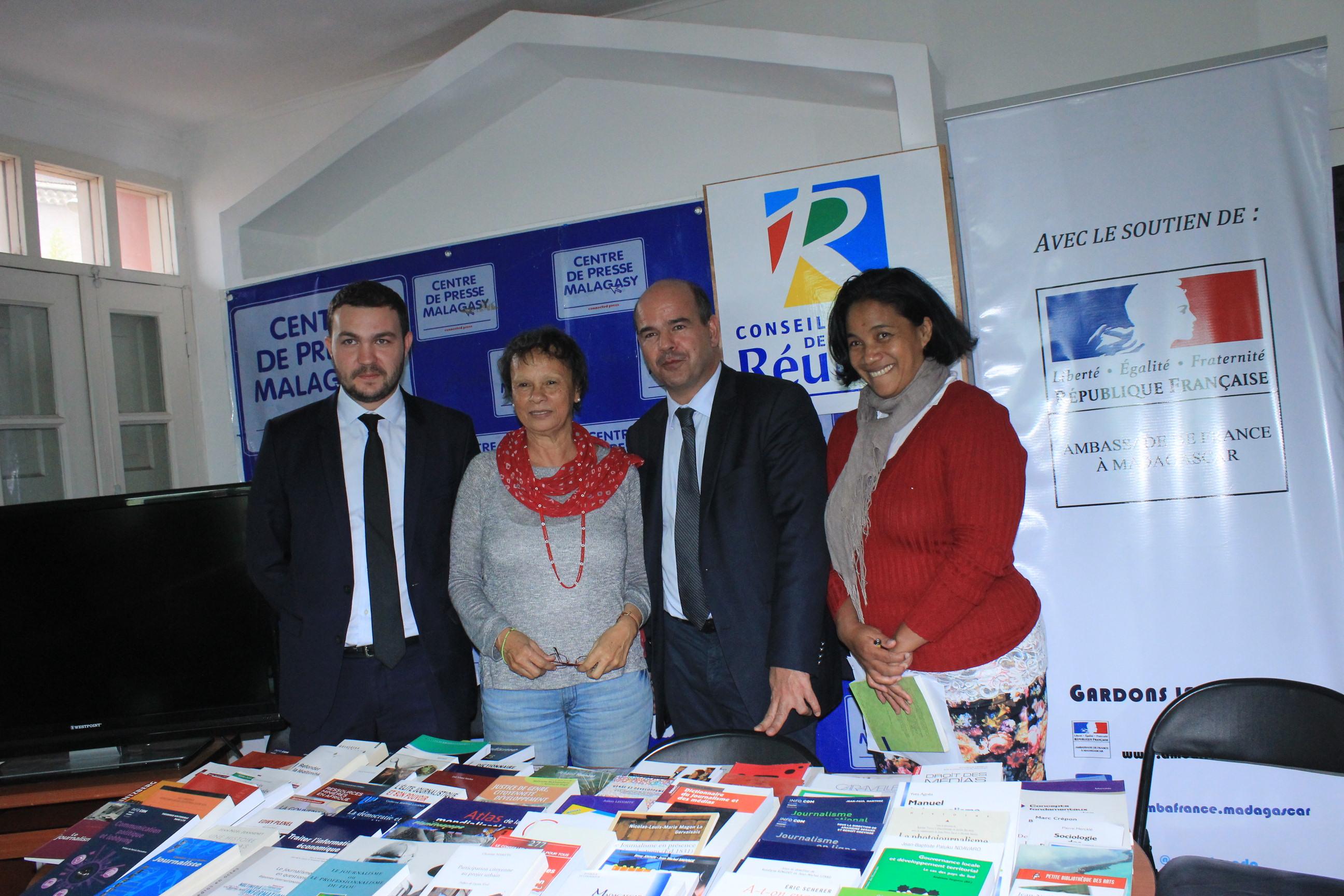 L ambassade de france soutient les activit s du centre de for Chambre de commerce de madagascar